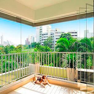 Sacada de Vidro no Jardim São Paulo